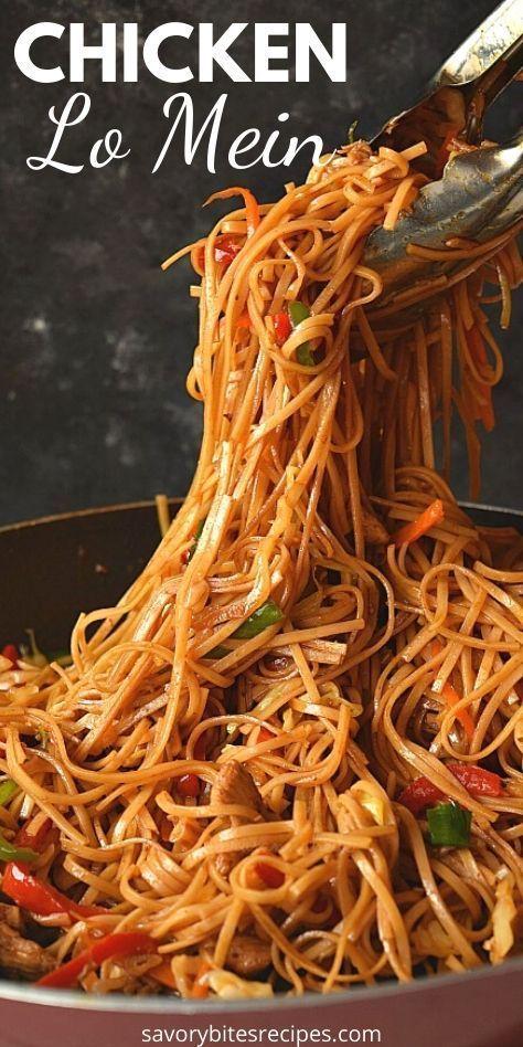 the 30-minute ultimate spicy chicken lo mein recipe