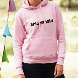 £19.99 Personalised Bridesmaid Ladies Hoodie
