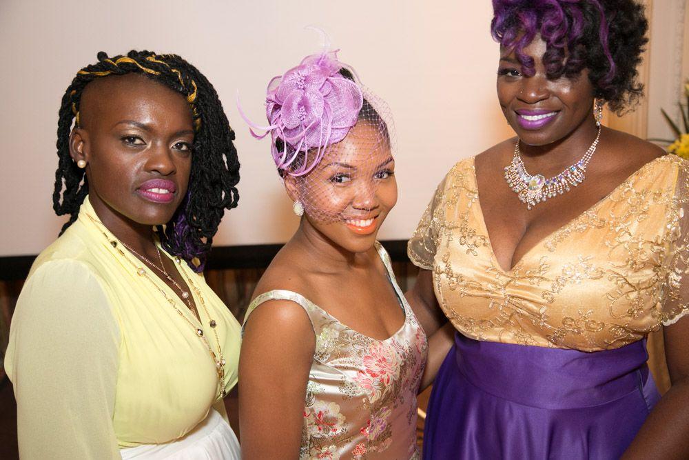 Black beauties, Sabine Bellevue CEO of Sabine's Hallway Natural Hair Salon Kathleen Blanc of Luxe Leblanc, Jennifer Lord CEO of Natural Hollywood