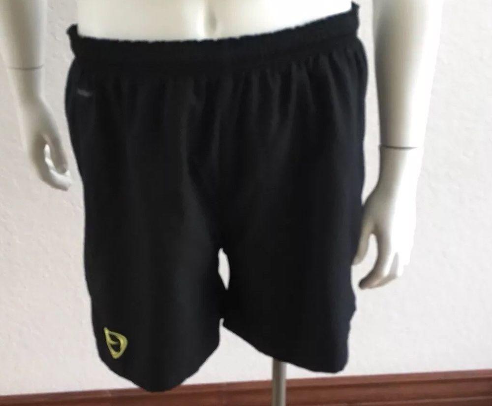 Mens nike fit dry black athletic sport gym running shorts