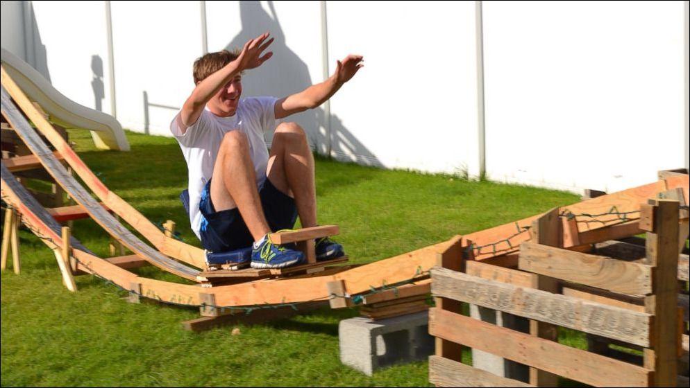 How To Make A Homemade Backyard Roller Coaster how to make ...