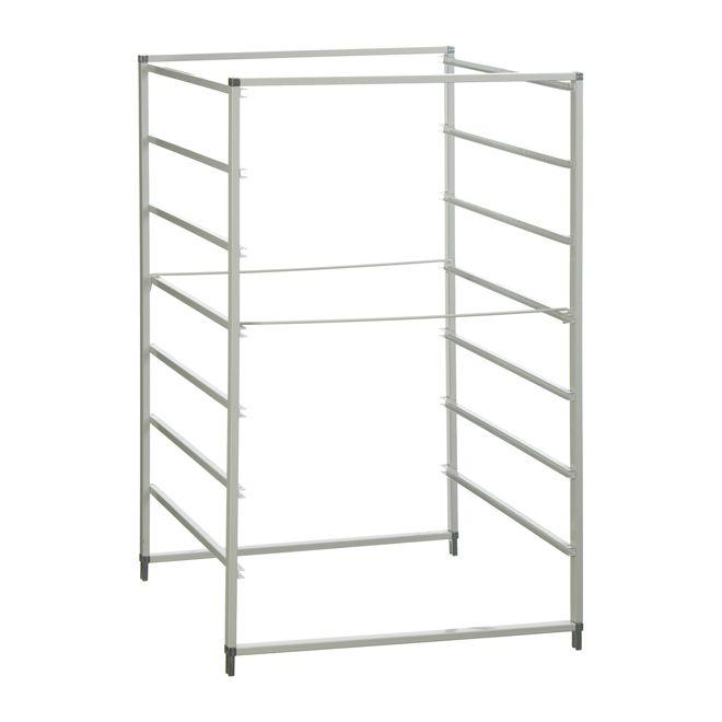 cadre 7 rails pour paniers tiroirs walk in closet. Black Bedroom Furniture Sets. Home Design Ideas