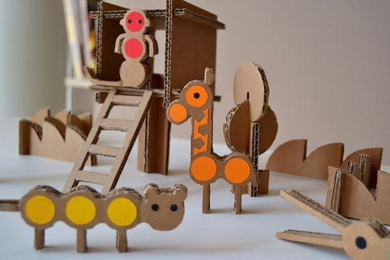 Milimbo cardboard play set - Mr P blog