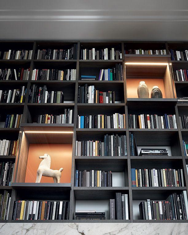 Pin de Pam Obc en Librero Pinterest Libreros, Bibliotecas y - bibliotecas modernas en casa