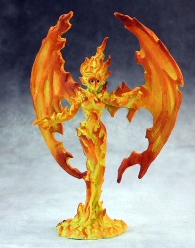 Reaper Miniatures Fire Elemental Medium Dark Heaven ...