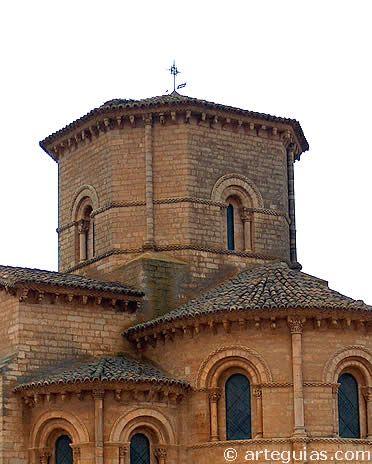 Cimborrio de la iglesia de San Martín de Frómista, Palencia