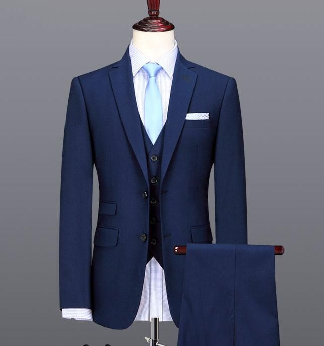 custom made Wool Men\'s suits three-piece suit wedding suit and ...