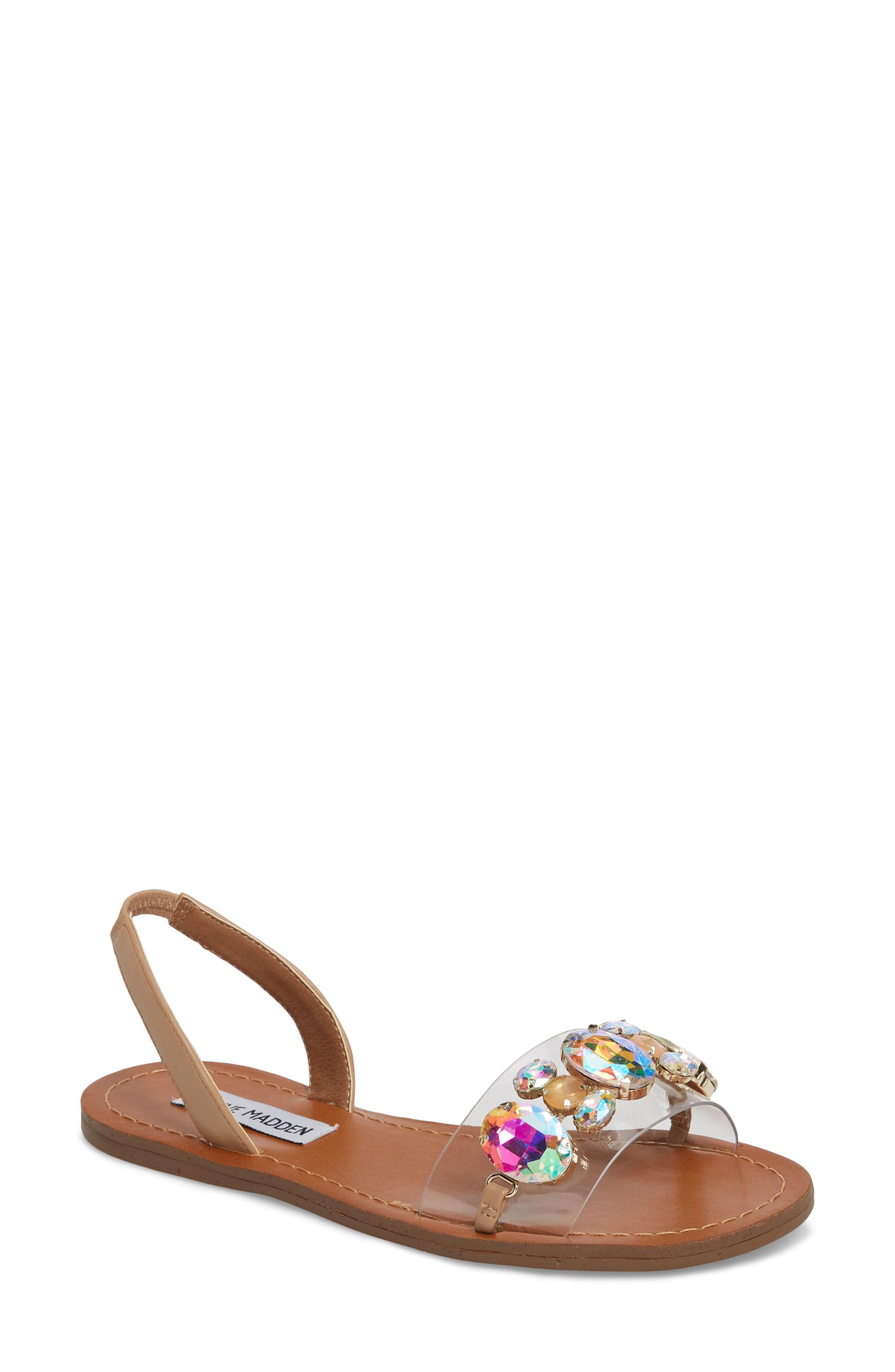 1b540e6a1af Steve Madden Alice Crystal Embellished Sandal available at  Nordstrom