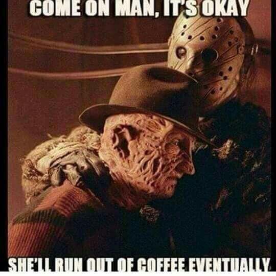 Freddy Vs Jason Horror Movies Funny Funny Horror Horror Movies Memes