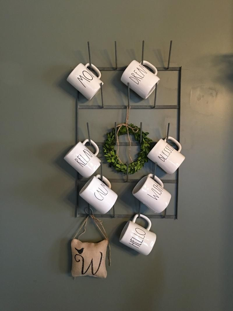 Coffee Mug Rack French Bottle Drying