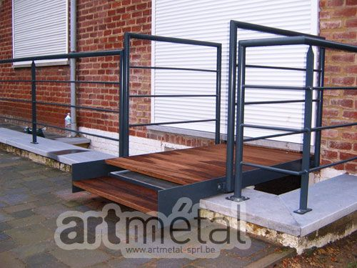 Art-Métal - Structures et terrasses Terrasse Pinterest - terrasse sur pilotis metal