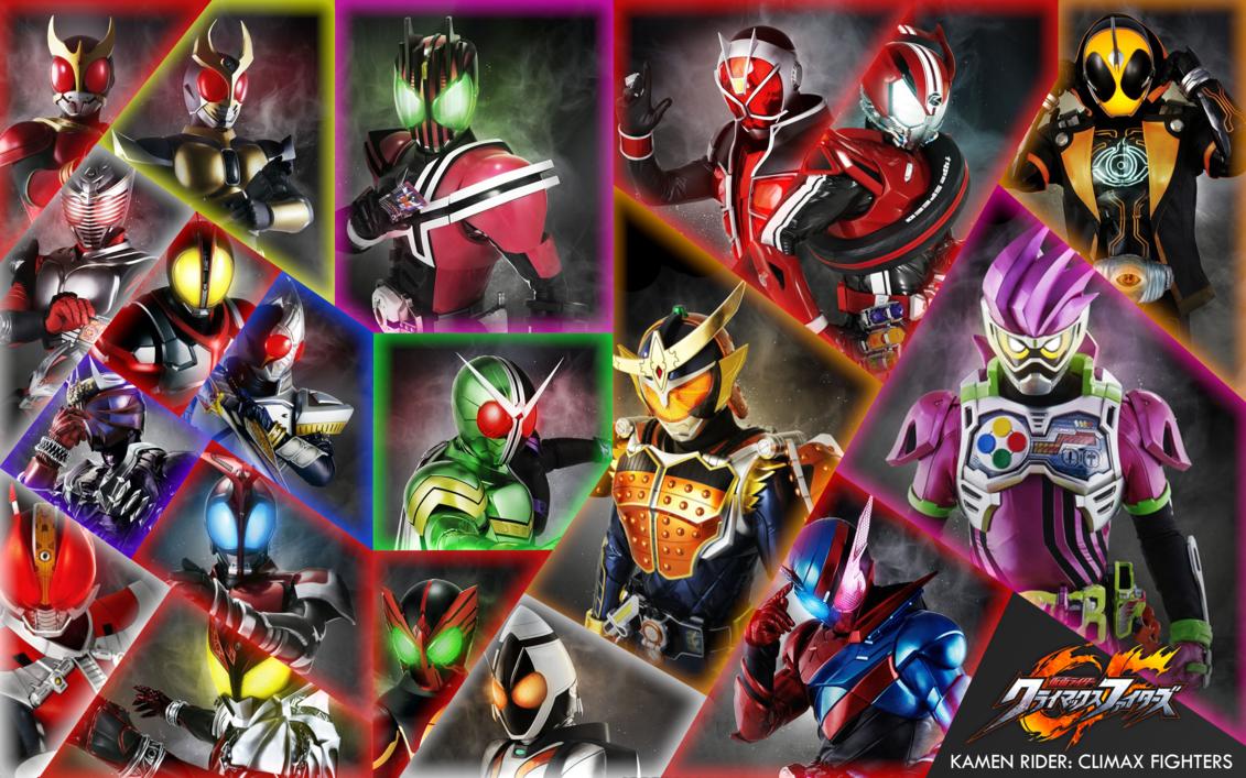 Kamen Rider Climax Fighters Desktop Wallpaper by