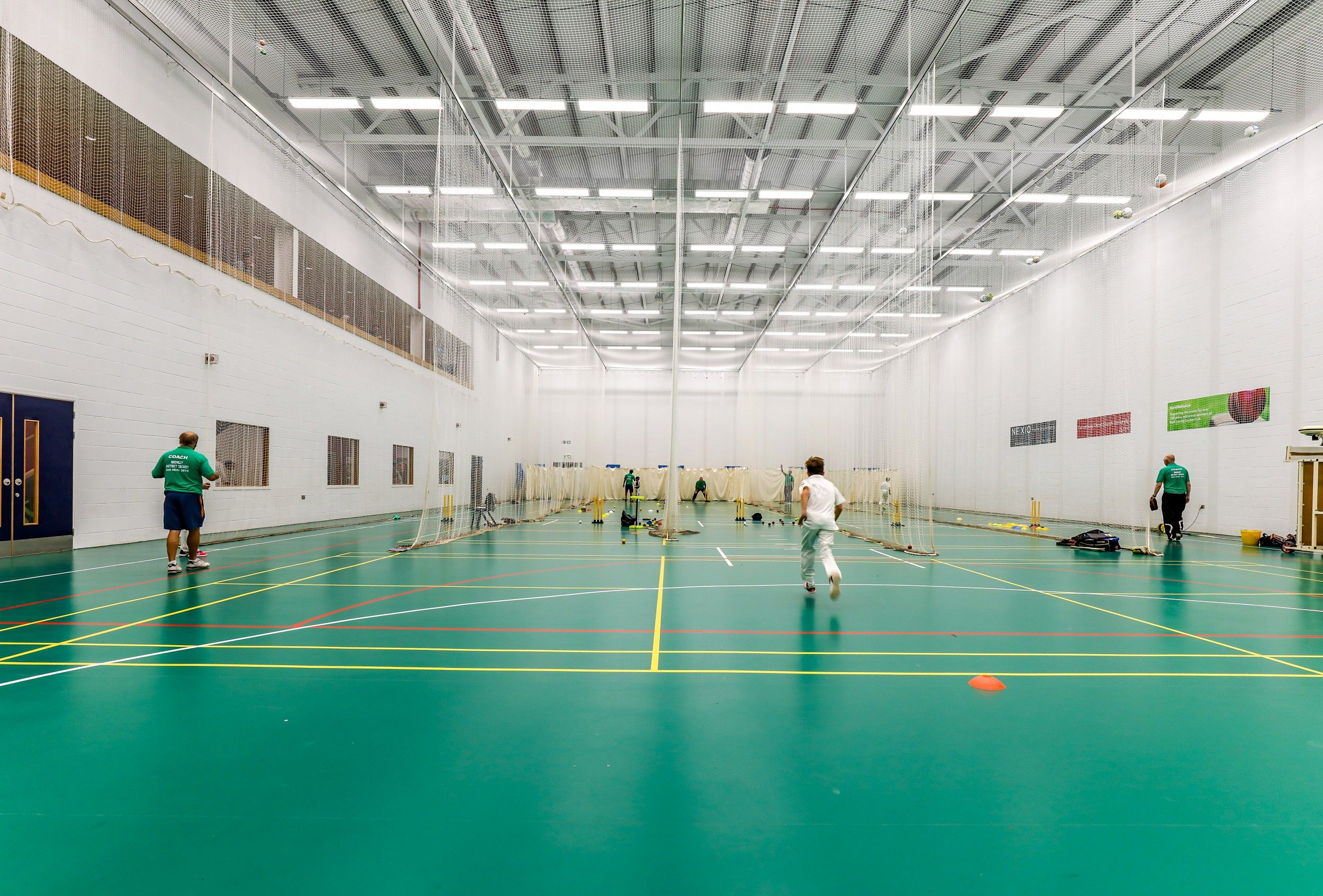 Kent County Cricket Club specified Taraflex® Performance #SportsFlooring to create this stunning project.