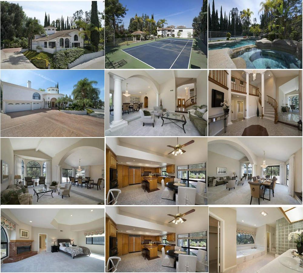 Looking for Beautiful Mediterranean view home >> Price : $1,590,000 Status : Active Beds : 6 Baths : 4 full, 1 half Home size : 4,175 sq ft Lot Size : 25,135 sqft Days on Market : 5 Beautiful Mediterranean view home with full size private TENNIS COURT....