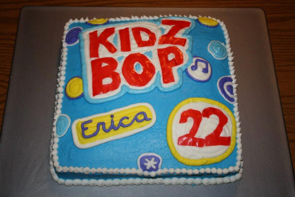 Kidz Bop 22 Birthday Cake KidzBop Recipes to Cook Pinterest