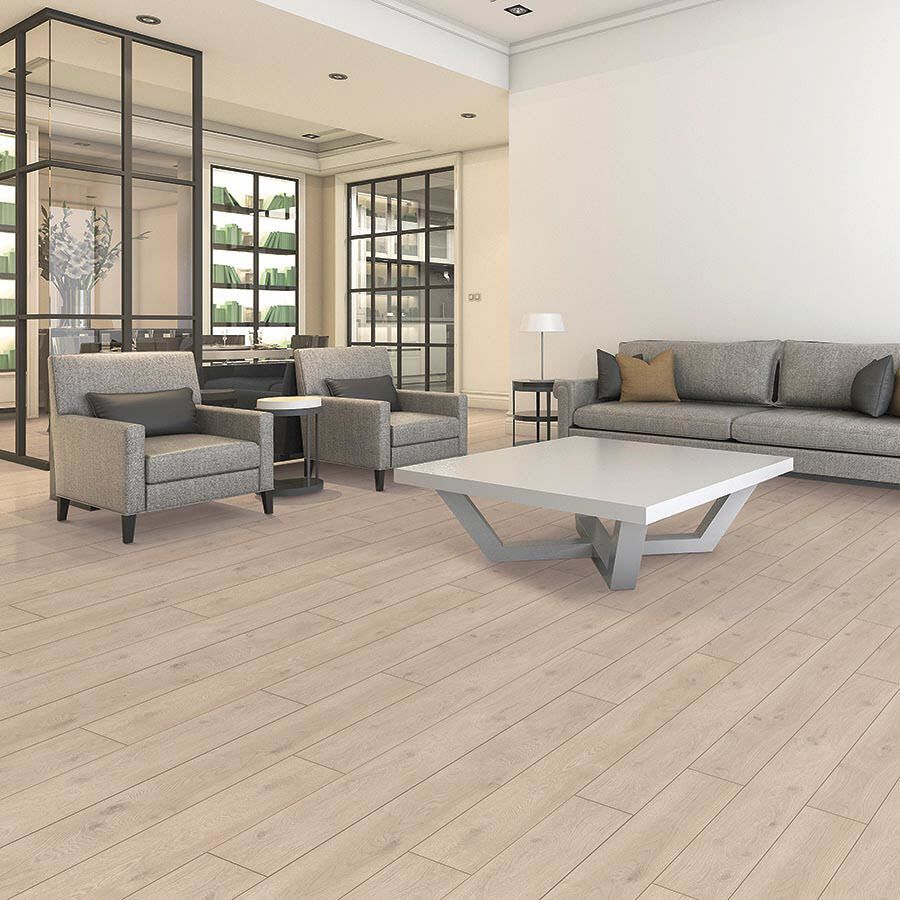 Pergo Portfolio 8 07 In W X 6 72 Ft L Modern Oak Embossed Wood Plank Laminate Flooring