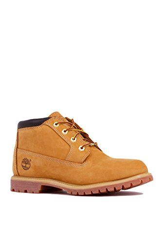 Timberland Women's Nellie Double WP Ankle Boot,Wheat Yellow,6.5 M US