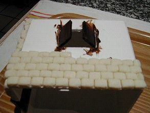 Fabriquer Maison Pate A Sel Pate A Sel Mur Brique Brique