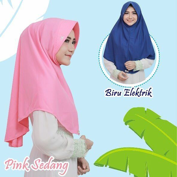 Jilbab Bergo Bahan Kaos Hijab Casual