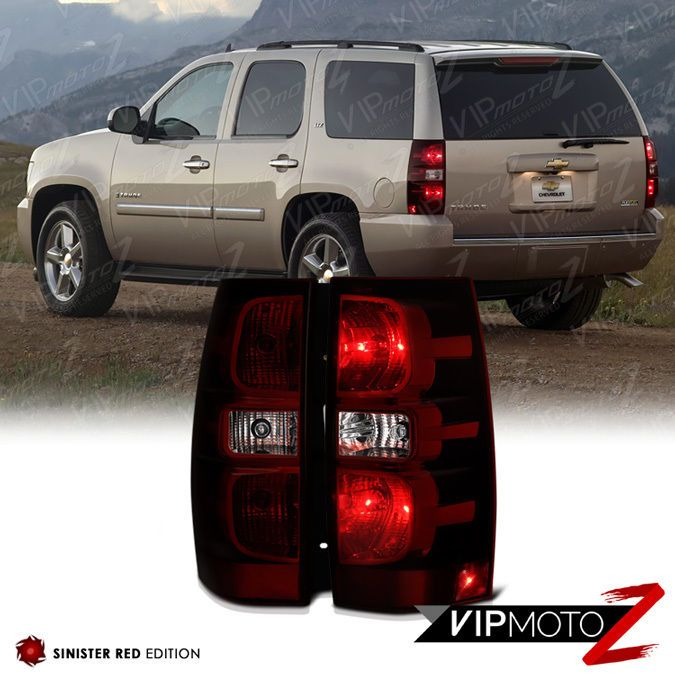 Details About 2007 2014 Suburban Tahoe Yukon Dark Wine Red Rear Left Right Tail Lights Harness Chevy Suburban Tail Light Chevrolet Tahoe