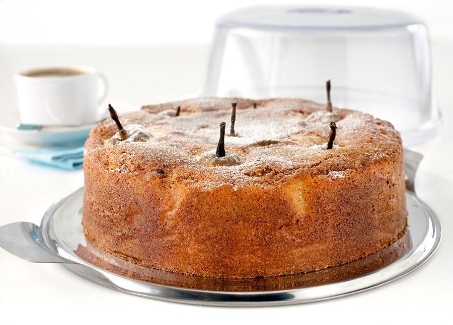 Kitchenaid Apple Cake Recipe: Whole Poached Pear Cake #kitchenaidaus