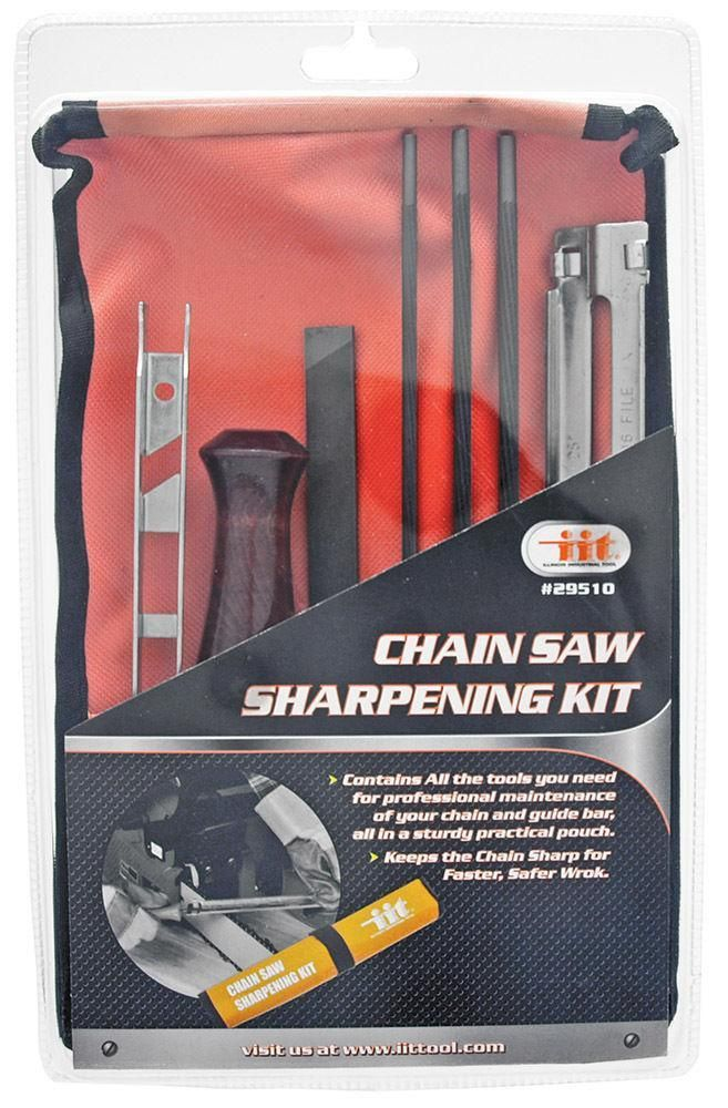8 Piece Chain Saw Sharpener File Kit | Products | Saw