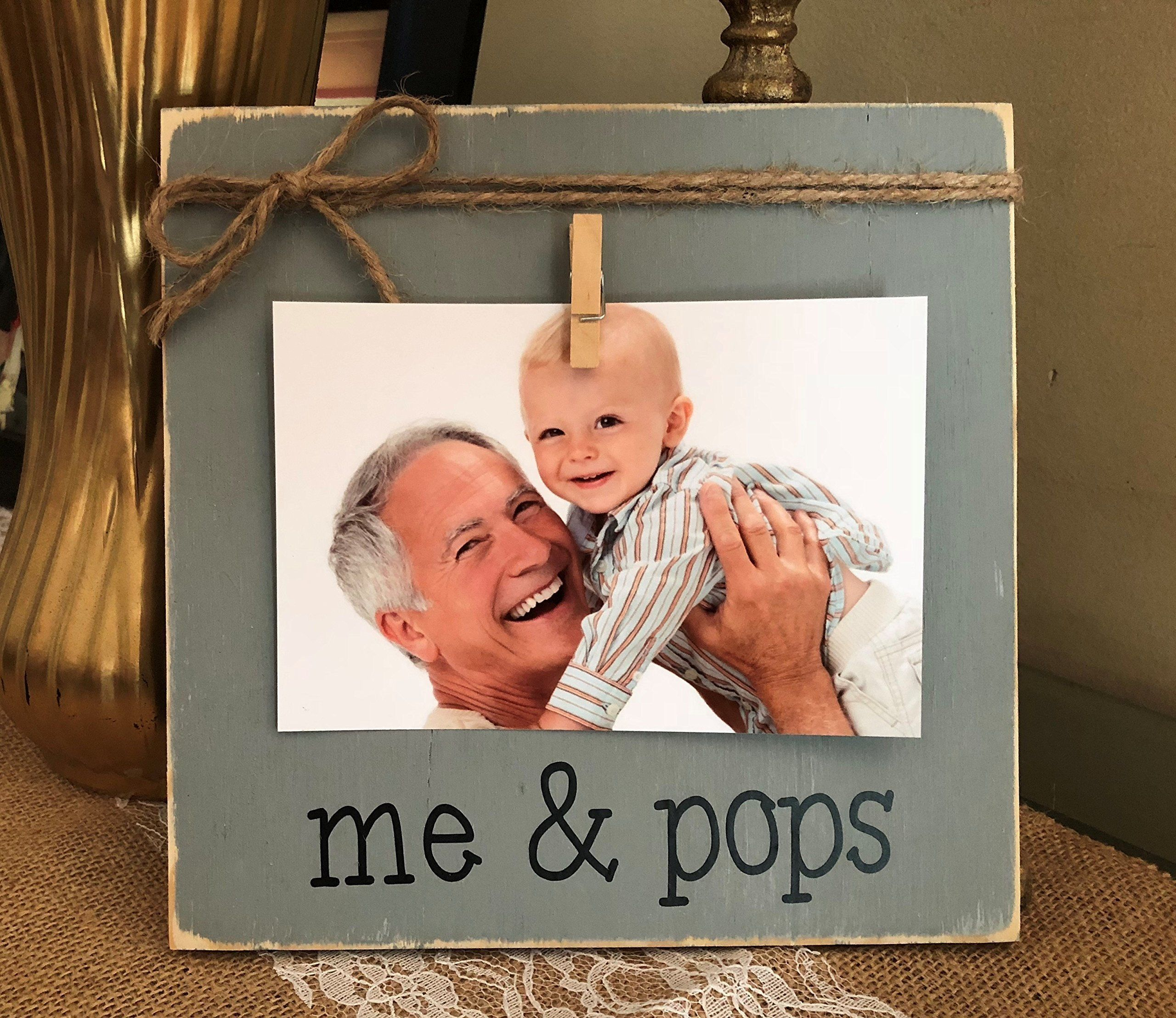 Father\'s Day Gift   Personalized Grandfather Picture Frame   Me and ...