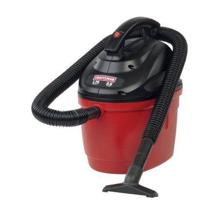 Craftsman Wet Dry Vacuum 1 75 Peak Hp 2 5 Gal 1 1 4 X 4 Ft Walmart Com Wet Dry Vacuum Wet Dry Vac Wet And Dry