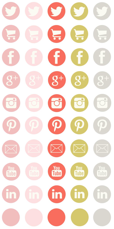Free social media icons from lovelytocu.com | Design Element ...