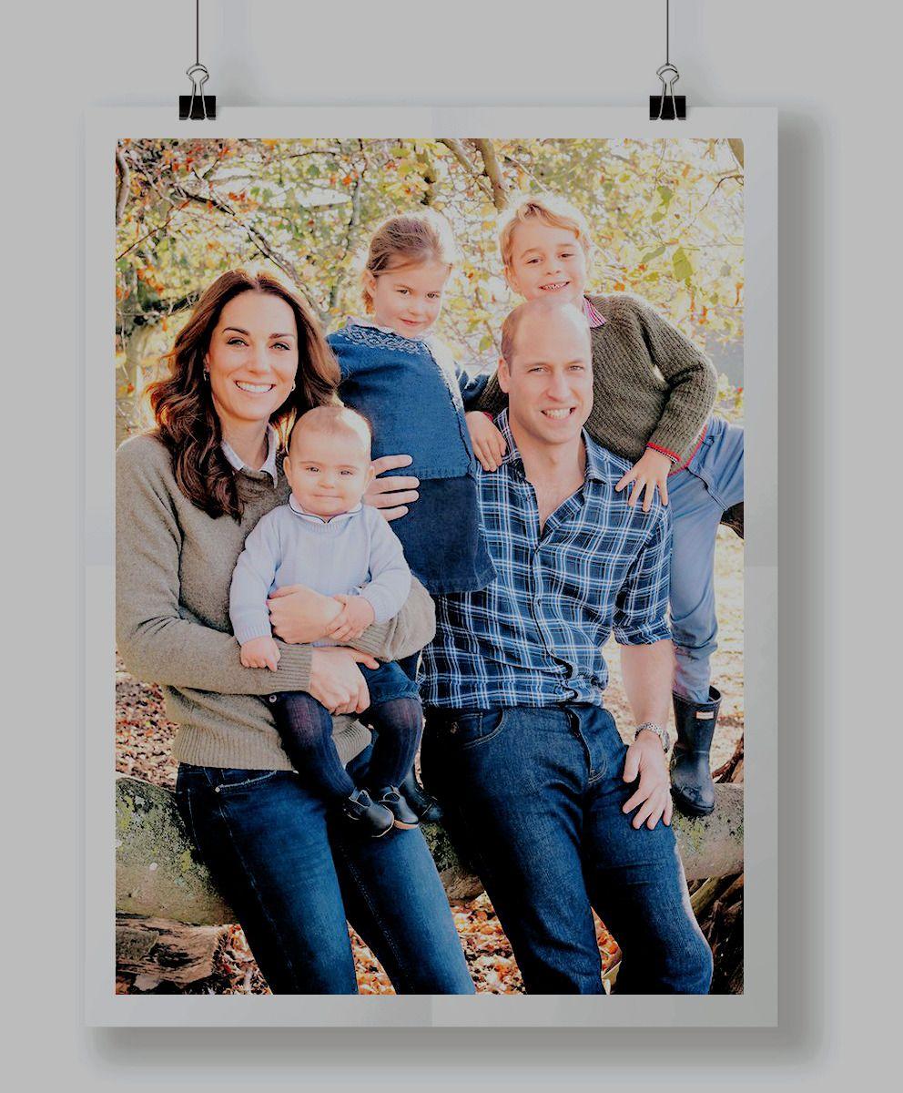 The Cambridges Christmas Card 2018 The Royal Family Prince