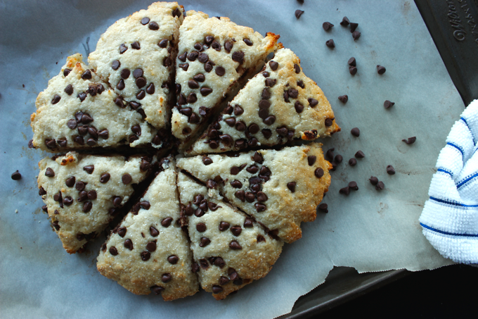These healthy high protein chocolate chip scones are HIGHLY ADDICTING, and sooo good for you! Each one is only 145 calories and has 10g of protein too.