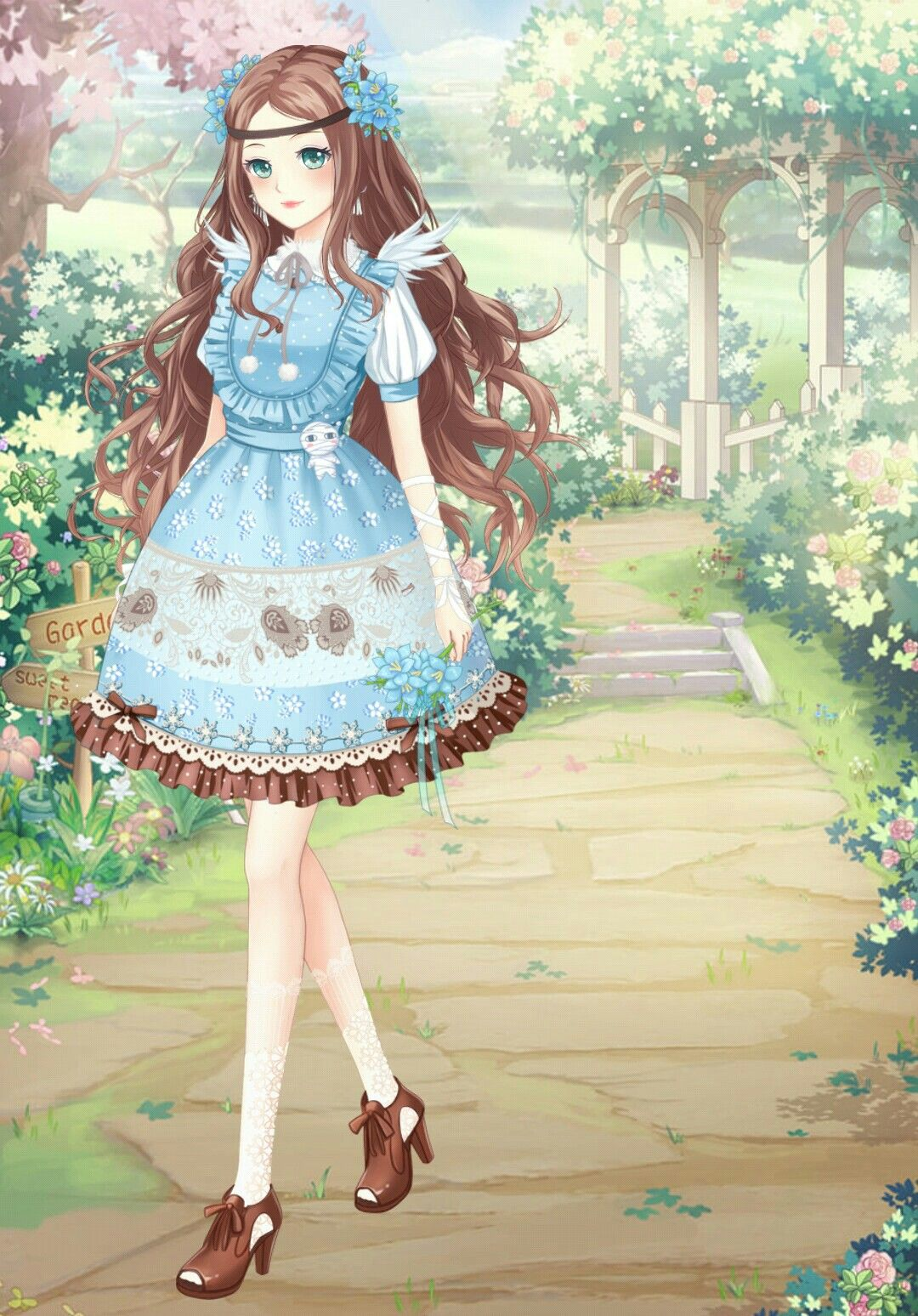 Dress up diary forest - Sweet Candy