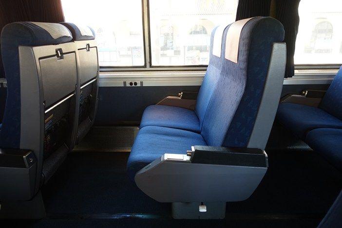 Amtrak Pacific Surfliner Superliner Car Seat | Amtrak | Pinterest ...