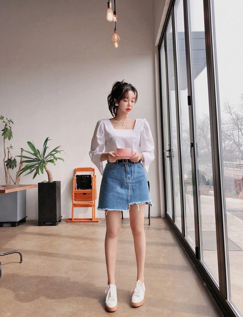 Amazing summer korean fashion. #summerkoreanfashion  Korean