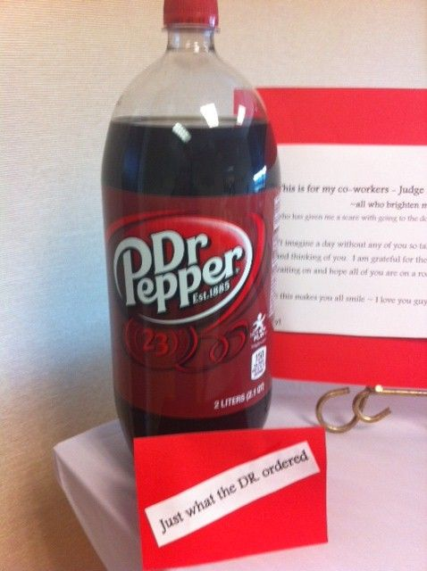Dr Pepper Just What The Doctor Ordered For The Drink Stuffed