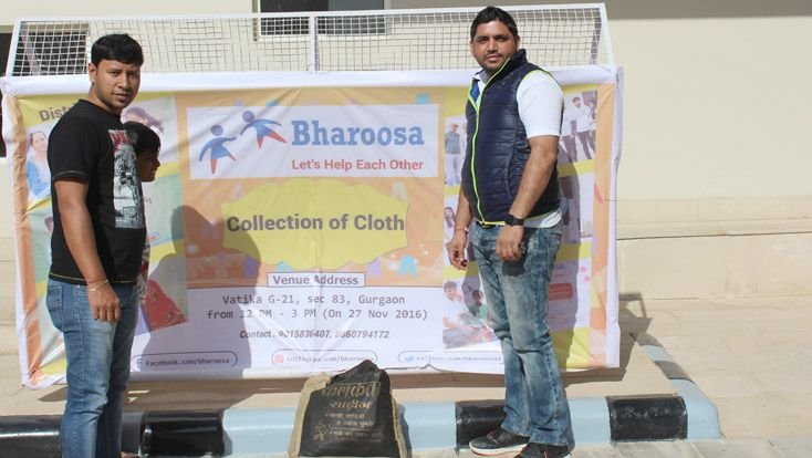 If you light a LAMP for somebody ,It will BRIGHT your path to !! #Bharoosa - #DonateClothes