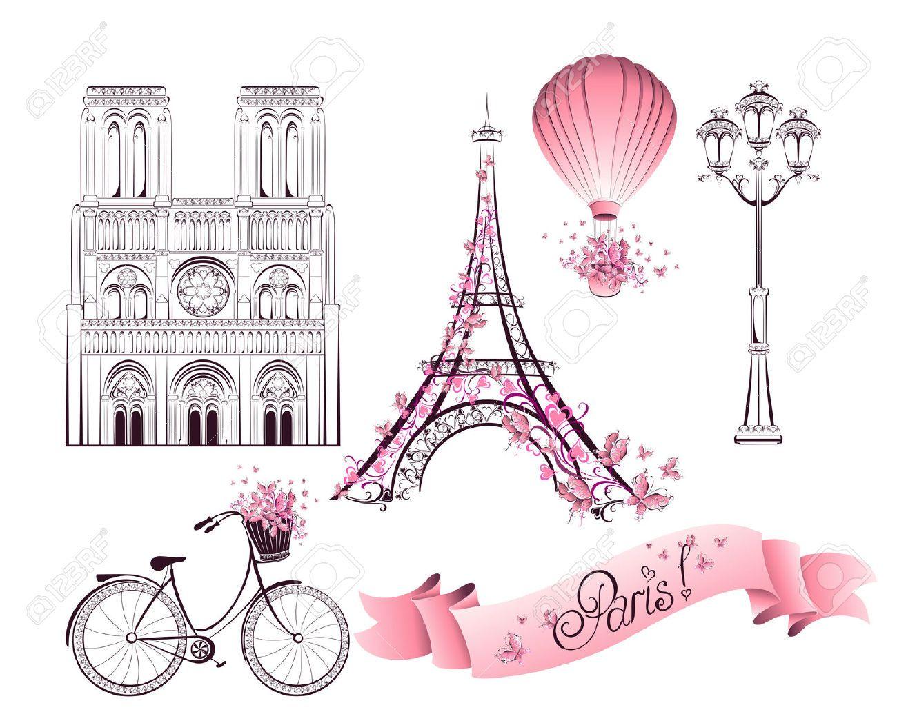 Paris Torre Eiffel Dibujo