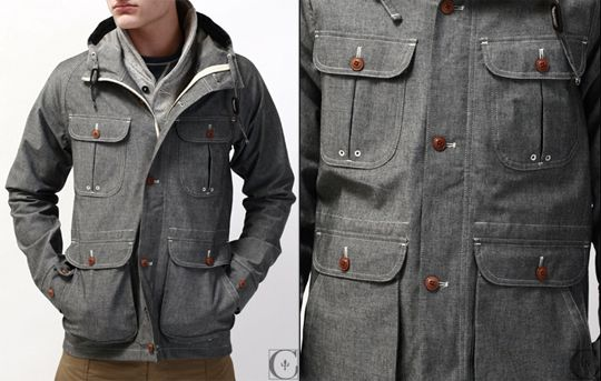 Selectism - wings-horns-chambray-parka-01