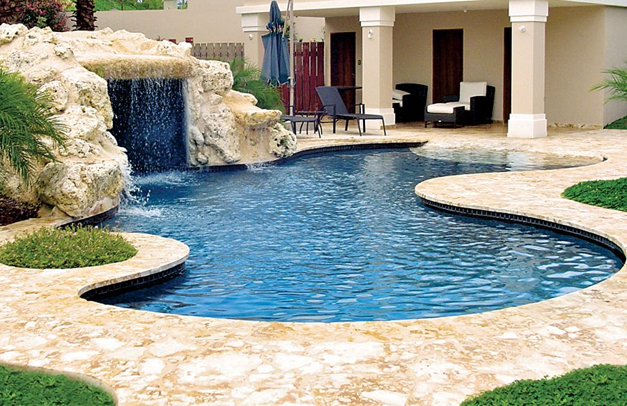 Zero/Beach Entries   Blue Haven Custom Swimming Pool And Spa Builders