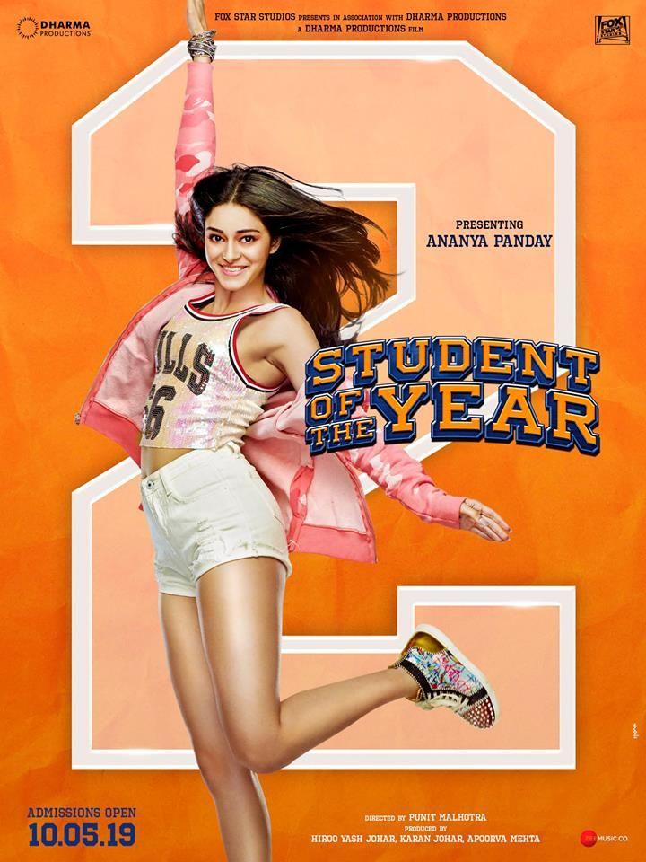 Pin By Diyu17 On Ananya Pandey Student Of The Year Bollywood Karan Johar