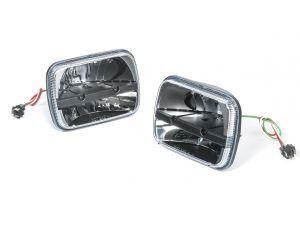 Truck Lite Led Headlamp Kit For 84 01 Jeep Wrangler Yj Cherokee