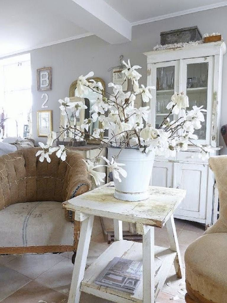 deconstructed chairs in a cottage style room setting. | FURNITURE ...