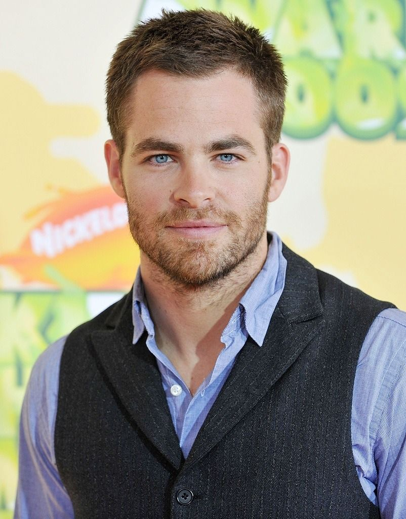 Chris Pine...doesn't he ever just wear jeans? haha. and shirts. t-shirts would be nice.