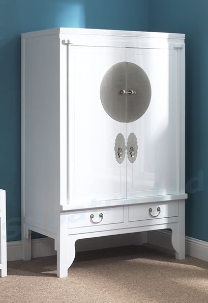 White Chinese Wedding Cabinet Part 16