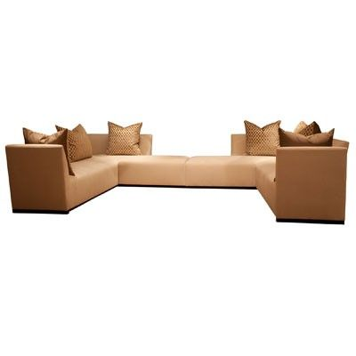 A Sectional Sofa From Donghia Love How It Would Seat Many But