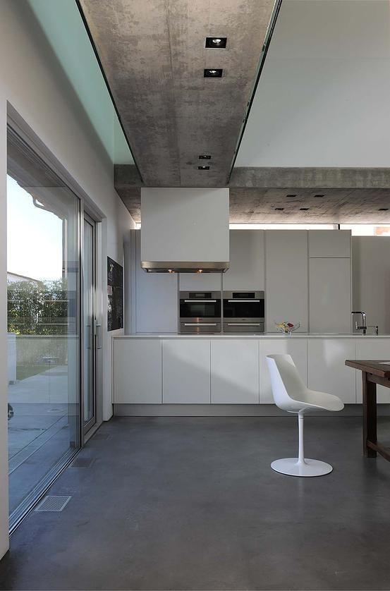 Progetto cucina Varenna Alea e arredamento in una bellissima villa ...