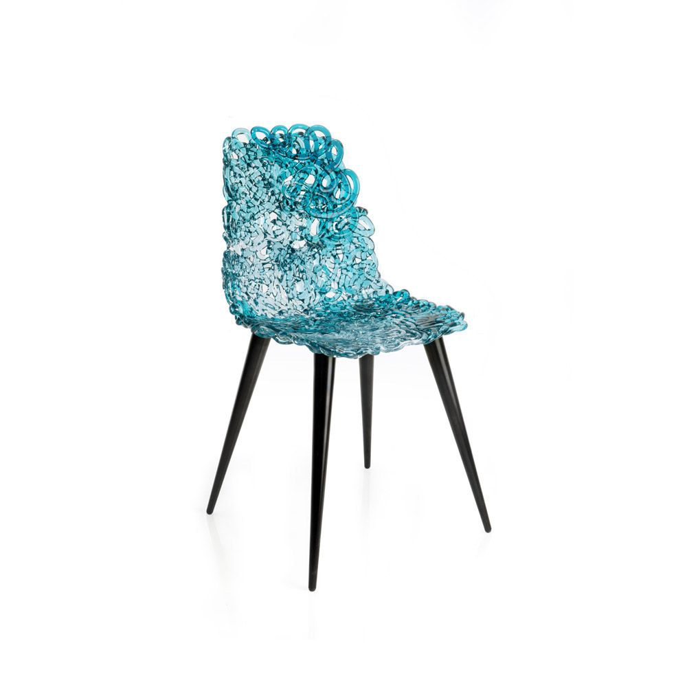 GINA CHAIR / DESIGN JACOPO FOGGINI / BY EDRA / YEAR 2014 | #designbest #interior #design #furniture #blue