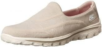f8798f8114f5 Skechers Performance Women s Go Walk 2 Super Sock Slip-On Walking Shoe