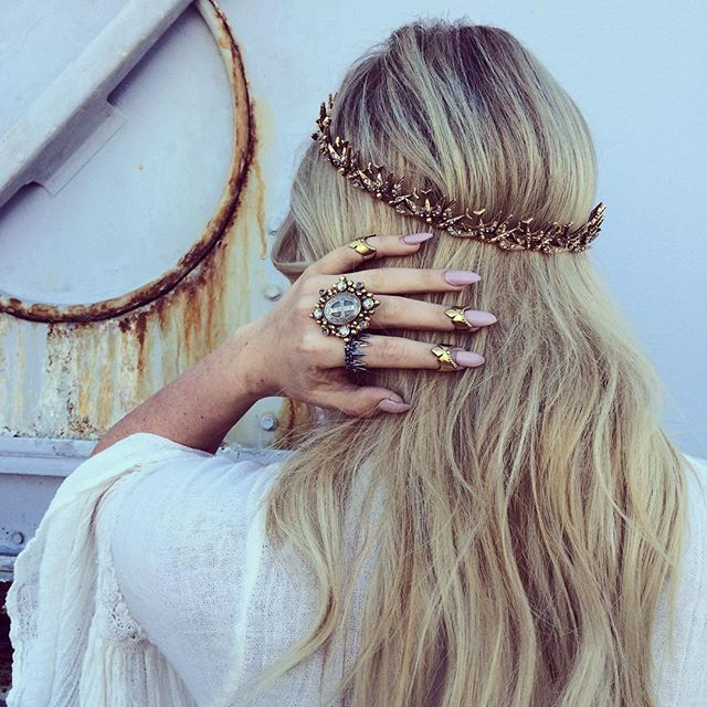 ✣ H A L O ✣ beyond obsessed with our new halos and stackable goth rings www.childofwild.com ✣✣✣✣✣ #childofwild #holiday #vsa @vsa_designs