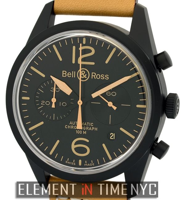 Bell & Ross Vintage Collection Heritage Chronograph 41mm iN Stainless Steel…